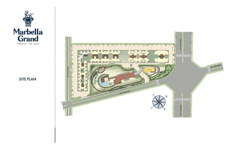 Marbella Grand site Plan
