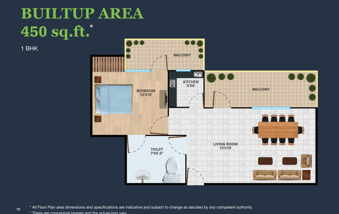 Diplomatic Greens noida - 1 BHK