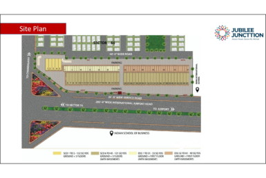 jubilee square mohali Site Plan