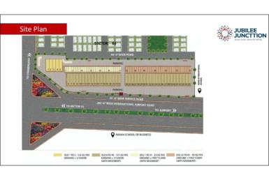 jubilee square mohali Site Plan